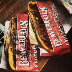 For the chocolate lovers - the Chocolate Hazelnut and Triple Trip BeaverTails pastries! Instagram photo by @rybeats12 (Ryan Beatty)