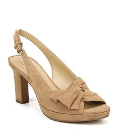d613859e2fe5 Naturalizer Fawn Suede Slingback Pumps  Dillards Suede Pumps