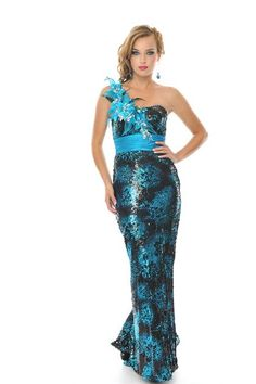 Precious Formals V55059 at Prom Dress Shop