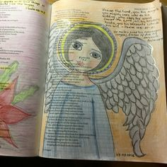 Bible Journaling Psalm 103 & Psalm 104 Psalm 104, Psalms, Scripture Study, Bible Art, Worship The Lord, First Love, My Love, Bible Journal, Journal Inspiration