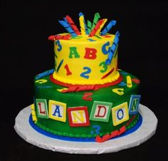 The twins 1st birthday on Pinterest Abc Birthday Parties ...
