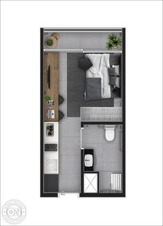 Life is on Small Apartment Layout, Studio Apartment Layout, Small Apartment Interior, Small Apartments, House Layout Plans, Small House Plans, House Floor Plans, Studio Apartment Floor Plans, Apartment Plans