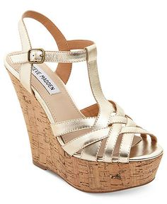 Steve Madden Women's Shoes, Wildness Platform Wedges - Shoes - Macy's