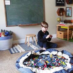 Swoop Bags: Toy Storage Bags + Play Mat in One! Toy Storage Bags, Lego Storage, Modern Toys, Clean Up, Legos, Make It Simple, Kids Rugs, Seattle, Fun