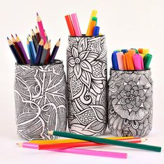 Mark Montano: Jar Makeover with Coloring Books