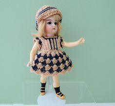 "Lovely 5"" German K*R 192 Closed Mouth Child with 5 PC Body"