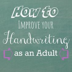 Disorder writing adult hand