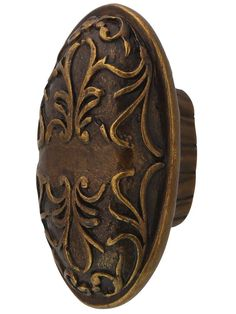 "Cantata Oval Cabinet Knob - 2"" x 1 1/8"" 
