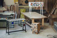 Polka robi w małym garażu meble, które można znaleźć w najlepszych apartamentach na Manhattanie | Dobre Wiadomości