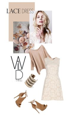 """""""Wild Lace"""" by travlingal ❤ liked on Polyvore featuring mode, Alexander McQueen, ALDO en MANGO"""