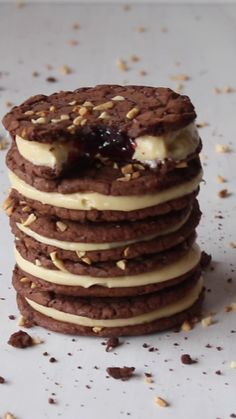 What the heck are brookies you ask? They're the love child of a brownie and cookie. Cake Cookies, Cupcake Cakes, Cupcakes, Biscotti Cookies, Biscotti Recipe, Brownie Recipes, Cookie Recipes, Dessert Recipes, Brookies Recipe