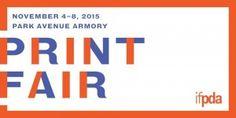 New Your IFPDA Print Fair Logo, November 2015