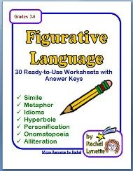 Figurative Language Sort! Review or Assess 7 Types of Figurative ...