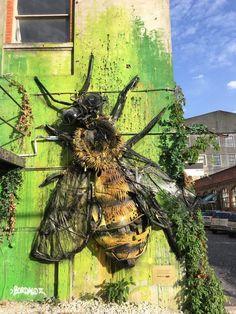 Lisbon Street Art by Artist Boradalo in LX Factory