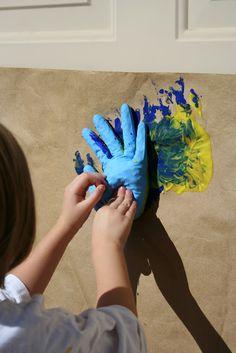 Sense of Wonder Play School: Slap Art