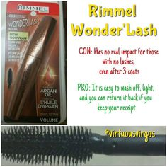 """""""We love searching the aisles of drugstores for hidden gems!  However this is not one!  @Rimmel has great products so this will not be the last. Follow…"""""""