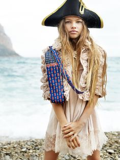 Dani Brubaker Photographer + Director  More magic from Dani and young model Thylane Blondeau.