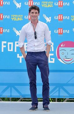 Eddie Redmayne attends the 2013 Giffoni Film Festival photocall on July 26, 2013 in Giffoni Valle Piana, Italy.