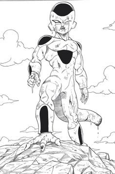 A lord on his throne. Just goes to show how hard it is to overthrow the most powerful being in the universe. #dbz
