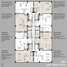 Apartment Plan Possibilities | Possible layouts for apartmen… | Flickr