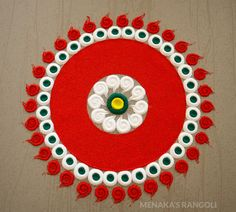 50 Kamada Ekadashi Rangoli Design (ideas) that you can make yourself or get it made during any occasion on the living room or courtyard floors. Rangoli Designs Simple Diwali, Rangoli Designs Latest, Rangoli Designs Flower, Free Hand Rangoli Design, Small Rangoli Design, Rangoli Ideas, Rangoli Designs With Dots, Flower Rangoli, Beautiful Rangoli Designs