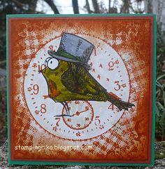 stamping rika: clock