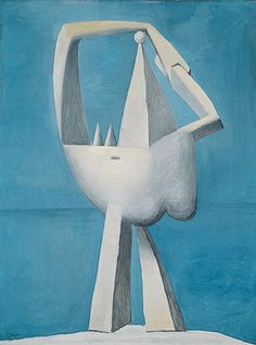 Pablo Picasso: Nude Standing by the Sea (1996.403.4) | Heilbrunn Timeline of Art History | The Metropolitan Museum of Art