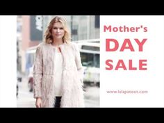 Mother's Day SALE 30%-50%OFF: www.lalapatoot.com #mothersdaysale #mother #mothersday #apparel #jewelry #fauxfur #robe #