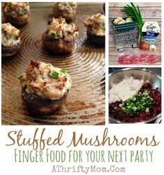 Stuffed Mushrooms Re