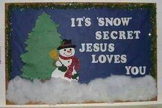 Kids winter craft/ or cute bulletin board idea