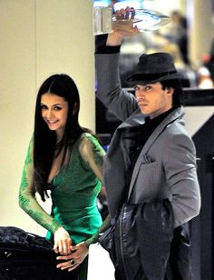 Nina Dobrev and Ian Somerhalder: How They Fell in Love: Traveling Twosome