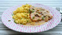 Yummy Food, Tasty, Cordon Bleu, Mai, Pork Recipes, Carne, Risotto, Bacon, Food And Drink