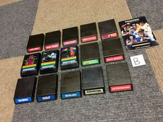 iINTELLIVISION 15 GAME LOT BURGERTIME LOCK N CHASE MICROSURGEON ASTROSMASH GOLF+