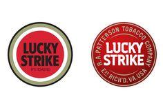 Info ou intox ? Et si Lucky Strike changeait sont logo vieux de 73 ans ? #logo #design #loewy #us #marque