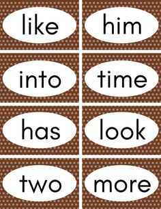 Free Printable Sight Words Flash Cards - Perfect for Preschool