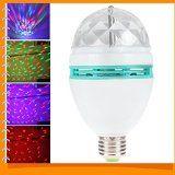 http://ift.tt/1QGYco1 E27 Rotating Crystal RGB Mini Magic Ball Stage Light Effect Colorful LED Lamp Bulb for Party Disco DJ Lighting OPTION Emitting Color-RGB Wattage-3w