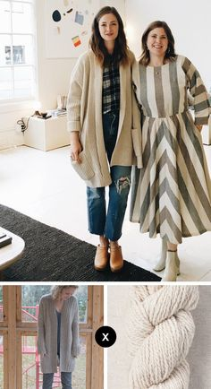Switching sources for a minute — from our usual Knit the Look street-style scenes — let's talk about this cardigan seen on Jenny Gordy (of Wiksten) in her Instagram feed on Saturday. The whol…