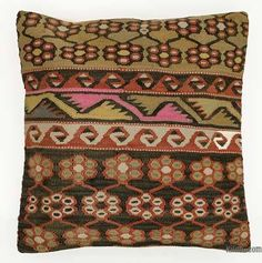 All Handmade, Each Unique Kilim Pillows, Kilim Rugs, Throw Pillows, Hand Knotted Rugs, Hand Weaving, Ikat Fabric, Geometric Pillow, Pillow Cases, Vibrant Colors