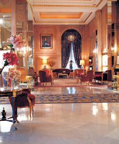 Luxury Hotel in Buenos Aires. The Alvear Palace Hotel is one of the most luxurious hotels around the world. 5 stars hotel in Buenos Aires, Recoleta. Hotels And Resorts, Best Hotels, Most Luxurious Hotels, Luxury Hotels, Luxury Travel, The Royal Collection, Leading Hotels, Piazza Navona, Palace Hotel
