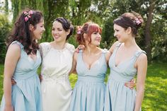 anthropologie bridesmaid dresses, great wedding dress- Emma Case Photography