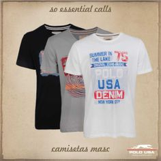 Camiseta Estampada Polo USA
