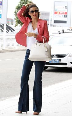 Groovy Vibes from Miranda Kerr's Street Style | E! Online