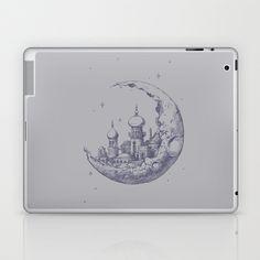 An Arabian Crescent Laptop & iPad Skin by Chris Kawagiwa - $25.00