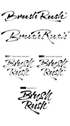 Brush Rush by José Joaquín Domínguez ., via Behance