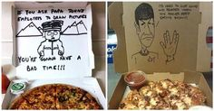 16 Hilarious Pizza Delivery Guys Who Really Delivered