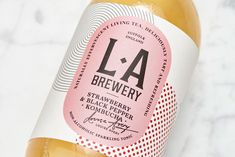 Pack Of The Month: Kombucha Grows Up With An Assist From Here Design | Dieline - Design, Branding & Packaging Inspiration Kombucha Brands, Identity, Fermented Tea, Kombucha How To Make, Label Design, Package Design, Logo Design, Graphic Design, Brand Packaging