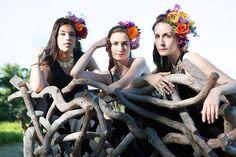 Triple Goddess, Women Empowerment, Crown, Beautiful, Fashion, Moda, Corona, Fashion Styles, Fashion Illustrations