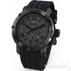 TW Steel Tech Cool Black watch 45mm TW128