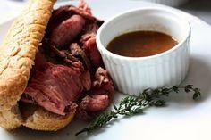 Art of Manliness - roast beef au jus sandwich