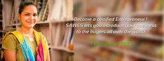 Become a Certified Entrepreneur ! Sawes lets you introduce your business to the buyers all over the world. https://www.sawes.org/login/add_buyer_register #business #buyer #entrepreneur